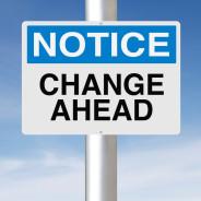 Change … Like it or not, it's here to stay! (Ha Ha … Get it?)